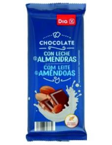 DIA CHOCOLATE C/AMENDOAS 100GR