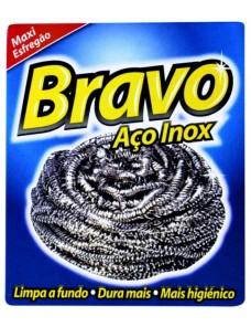 BRAVO ESFREGAO AÇO INOX