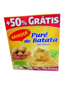 MAGGI PURE BATATA 250GR +125GR GRATIS