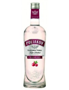 POLIAKOV VODKA AROMA CRANBERRY 70CL