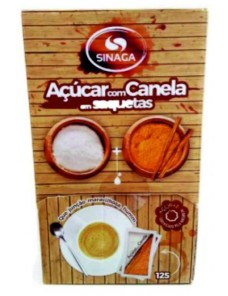 SINAGA ACUCAR C/CANELA SAQUETAS 750GR